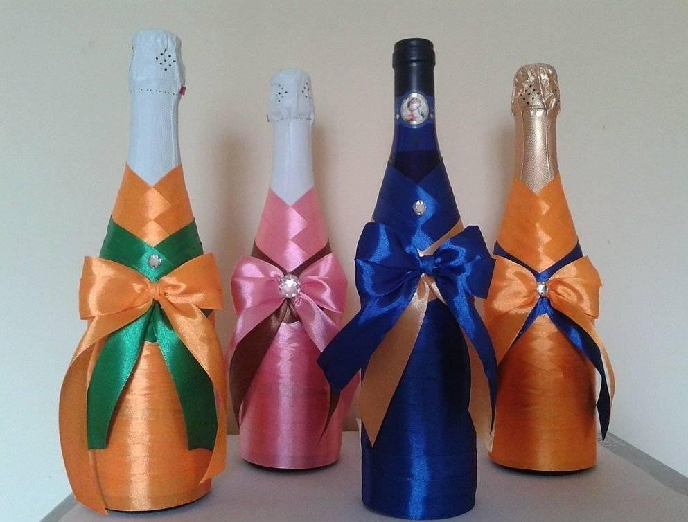 Декор бутылок - 75 фото лучших идей украшения пластиковых и стеклянных бутылок своими руками