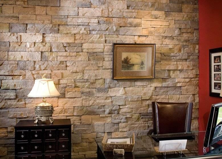 Декоративная плитка под камень для внутренней отделки +60 фото