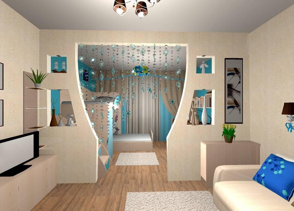 Зонирование гостиной и спальни - 130 фото лучших идей планировки, дизайна и разделения пространства в спальне