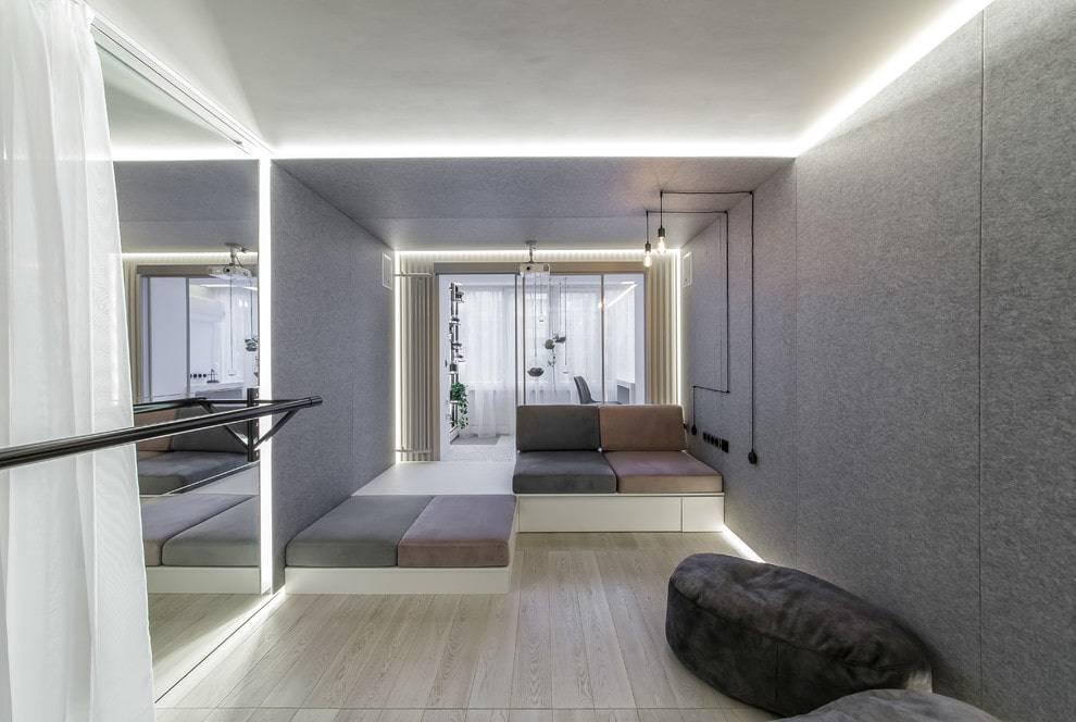 Гостиная в стиле минимализм — советы дизайнера с описанием всех тонкостей оформления интерьера, 125 фото
