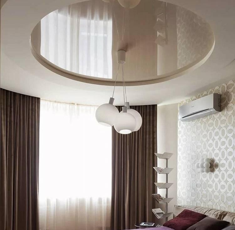 Многоуровневые потолки из гипсокартона с подсветкой в интерьере