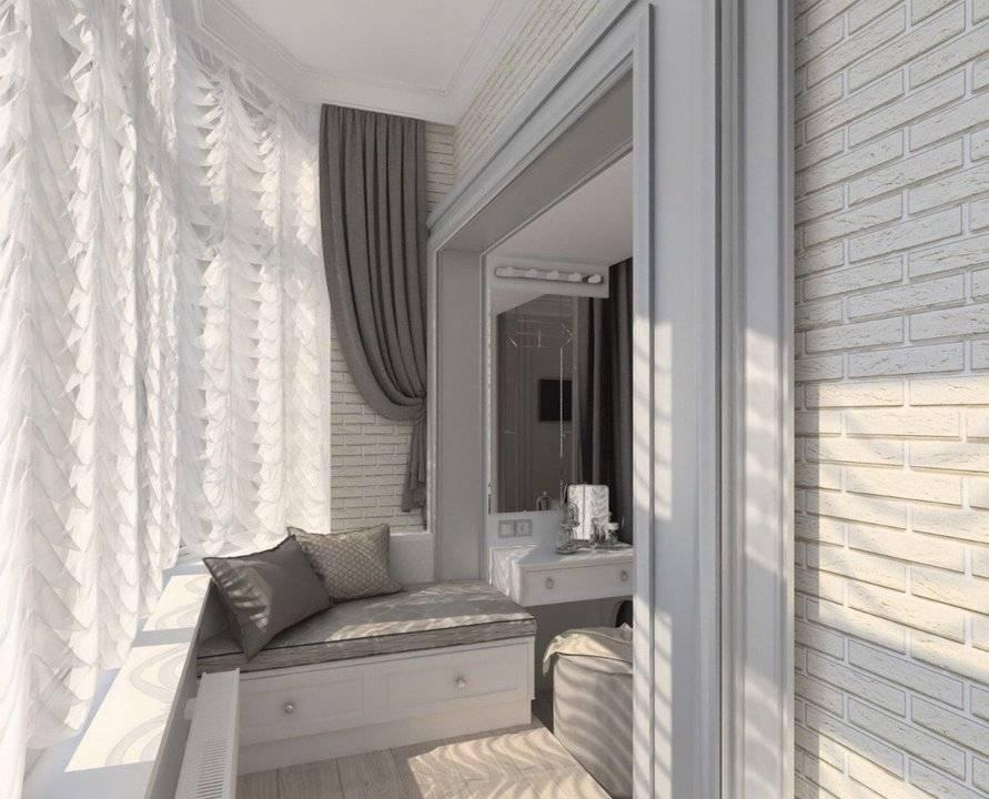 Лоджия в гостиной (180 фото): красивые примеры дизайна и совмещения двух помещений в одно