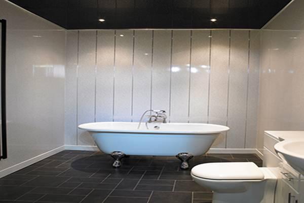 Отделка ванной комнаты пластиковыми панелями: +50 фото дизайна
