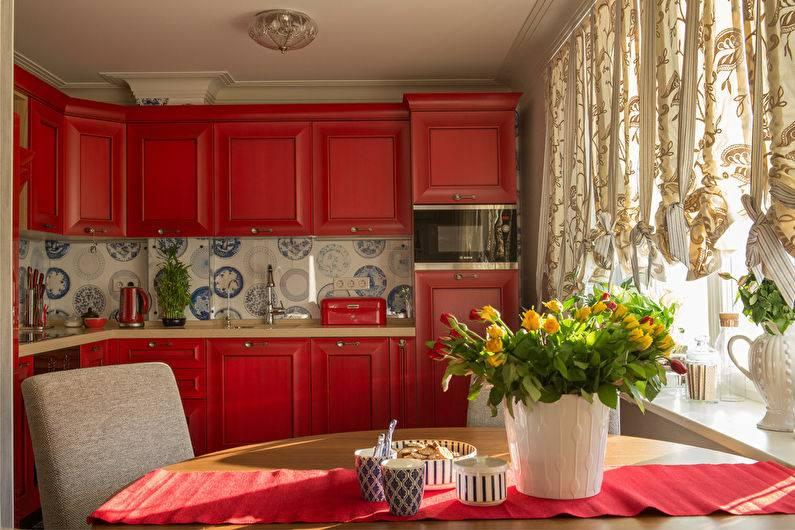 Кухня в синем цвете - 130 фото новинок стильного и современного дизайна