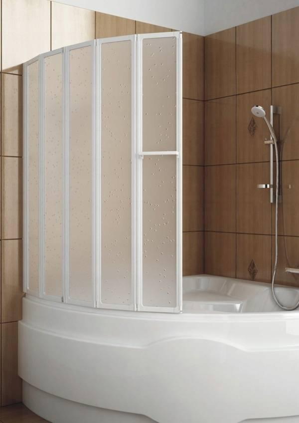 Выбираем раздвижную ширму для ванной комнаты