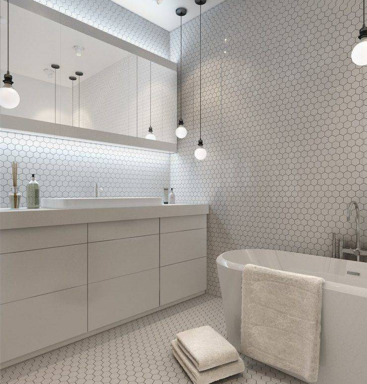 Ванная комната в стиле лофт: выбор отделки, цвета, мебели, сантехники и декора