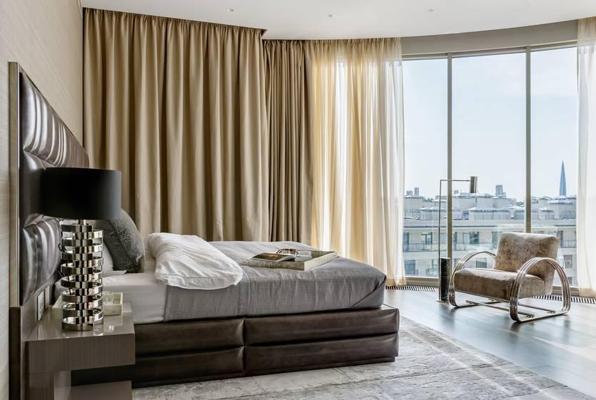 Красивые шторы для спальни: лучшие фото новинок 2020 года