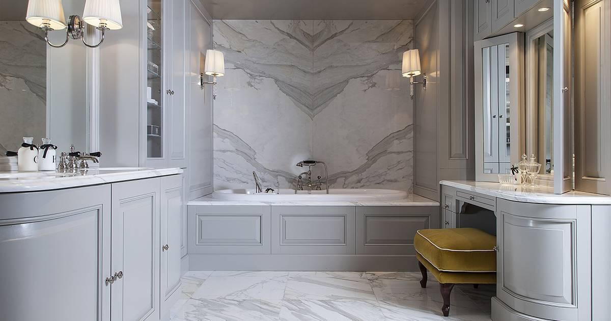 Классические ванные: 125 фото реальных проектов и идей по оформлению ванной