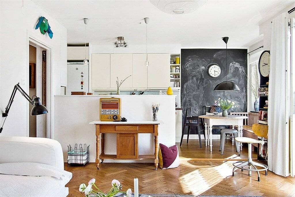Скандинавский стиль в интерьере квартиры – фото 15-ти реальных проектов