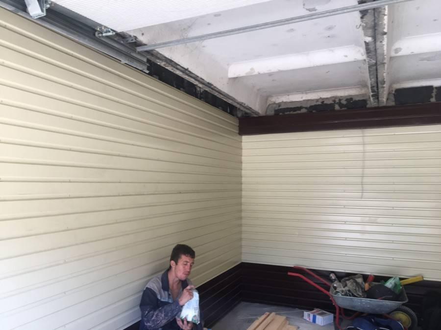 Отделка гаража внутри своими руками: чем обшить гараж