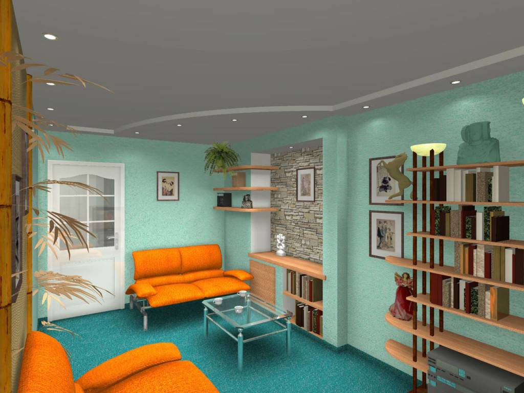 Современный дизайн интерьера комнаты в общежитии. как правильно работать с пространством в квартире?