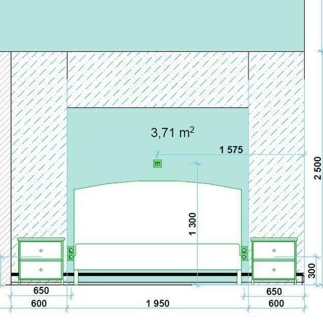 На какой высоте вешать бра над кроватью в спальне: нормативы установки в комнате