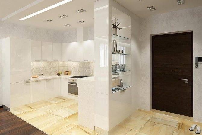 Кухня-прихожая (62 фото): планировка кухни, совмещенной с коридором в частном доме и в квартире. дизайн интерьера кухни-прихожей в одном стиле