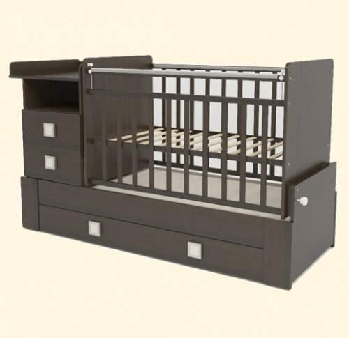 Детские кроватки для новорожденных: рейтинг лучших производителей, топ круглых кроватей-трансформеров до 3 лет