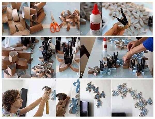 Поделки для дома: стильные модели и красивые поделки из подручных материалов (150 фото)