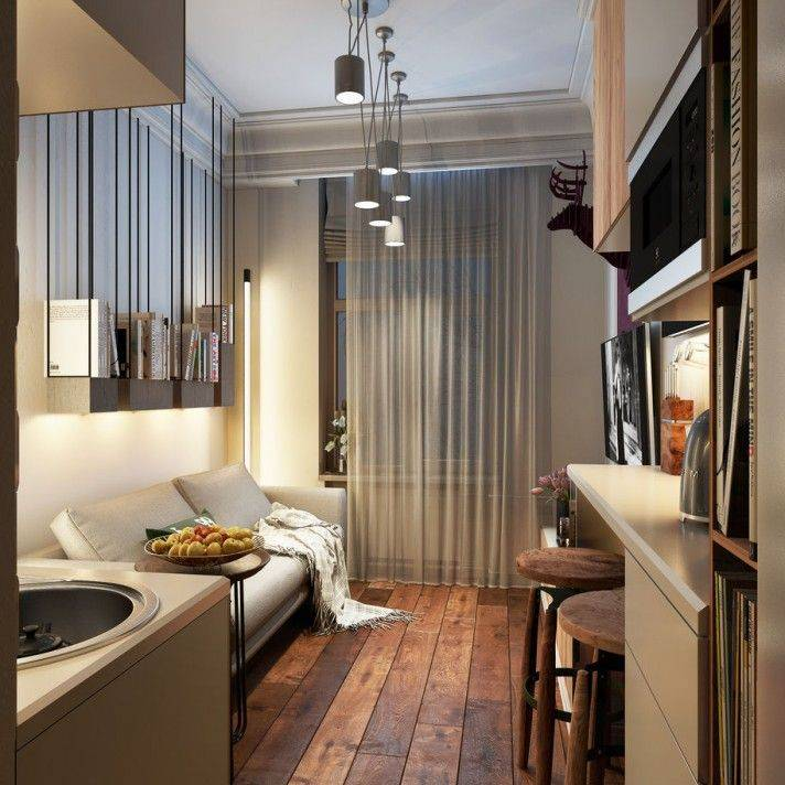 40 интересных идей для маленьких квартир :: инфониак