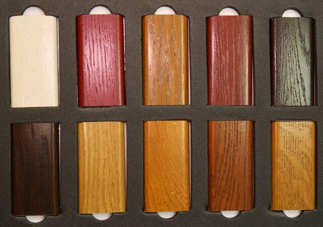 Морилка для дерева: цвета на водной основе