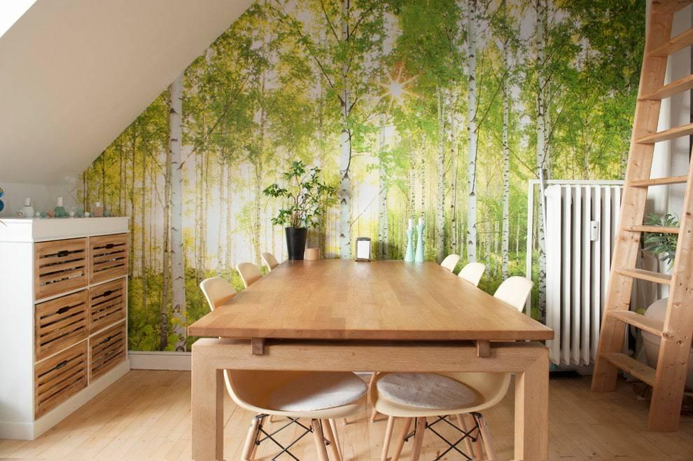 Фотообои, расширяющие пространство в интерьере - фото 50 квартир!