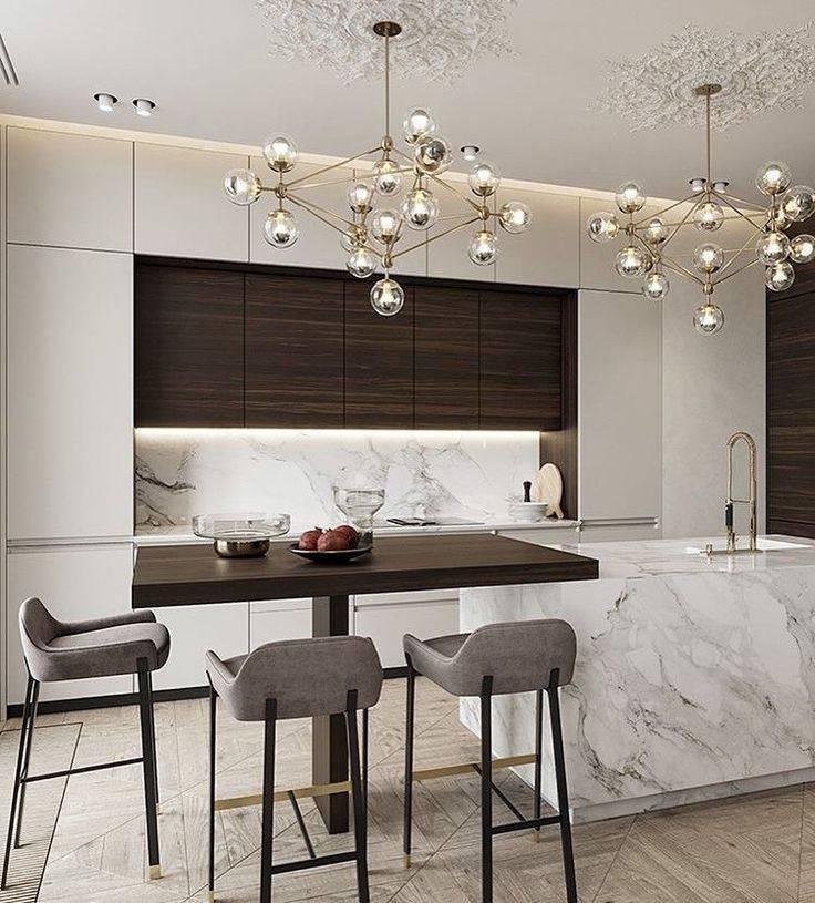 Новинки дизайна кухни 2020 года - новые интерьерные стили для дизайна кухни. расположение рабочей зоны. новинки материалов и цветов столешниц (фото + видео)