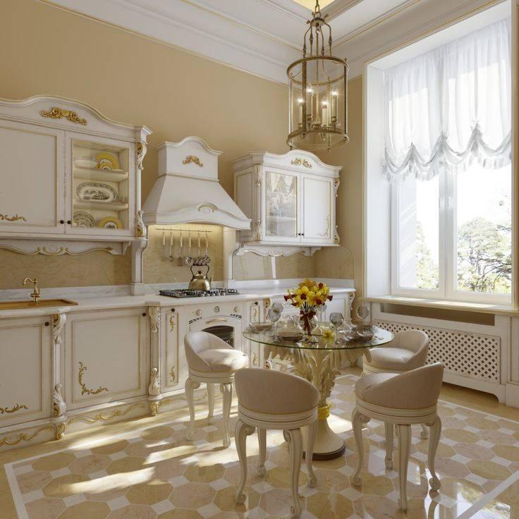 Кухня в классическом стиле: принципы оформления (+ 110 фото удачных интерьеров)