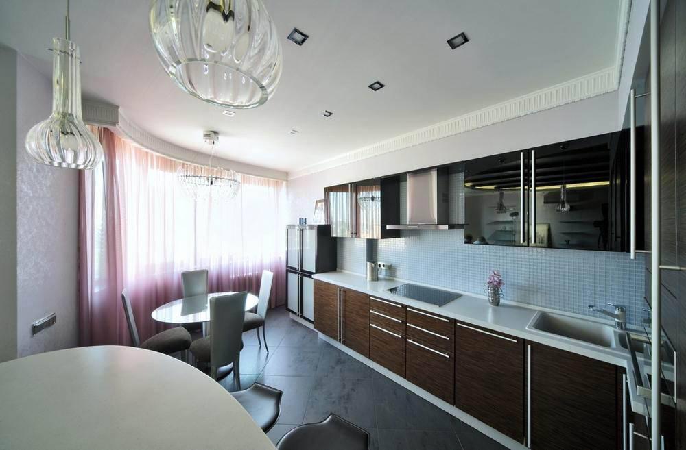 Потолок из гипсокартона на кухне: 25 вдохновляющих интерьеров