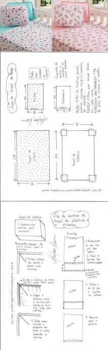 Бортики в кроватку для новорожденных — наши инструкции