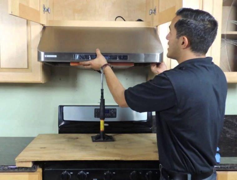 Как сделать вытяжку для газовой плиты на кухне своими руками — разъясняем обстоятельно