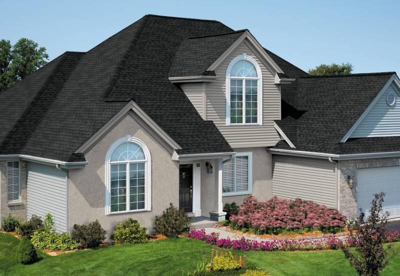 100 вариантов: красивые двухскатные крыши частных домов фото