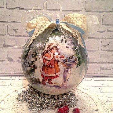 Как разрисовать елочные шары своими руками. мастер класс как сделать новогодние шары своими руками: роспись, декупаж, украшение новогодних шаров