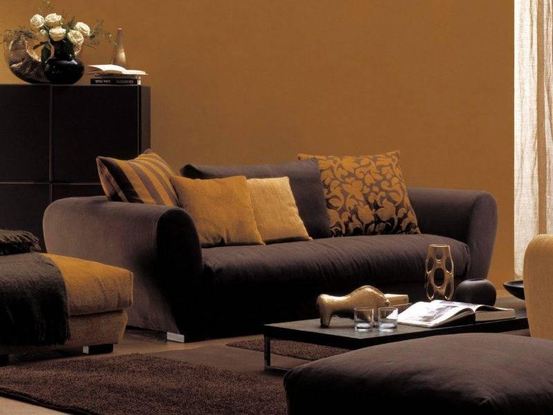 Правила выбора желтого дивана, наиболее удачные цвета-компаньоны