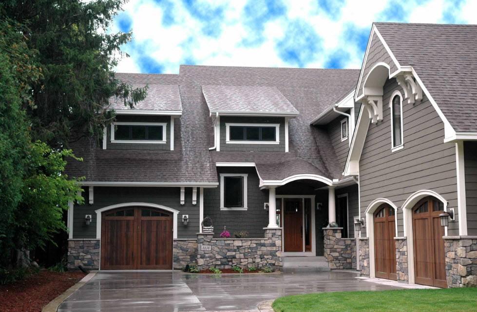 Разнообразие фасадного декора для наружной отделки дома