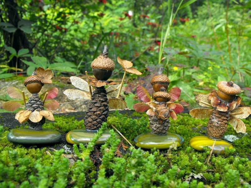 Поделки из природных материалов своими руками: красивые и легкие идеи