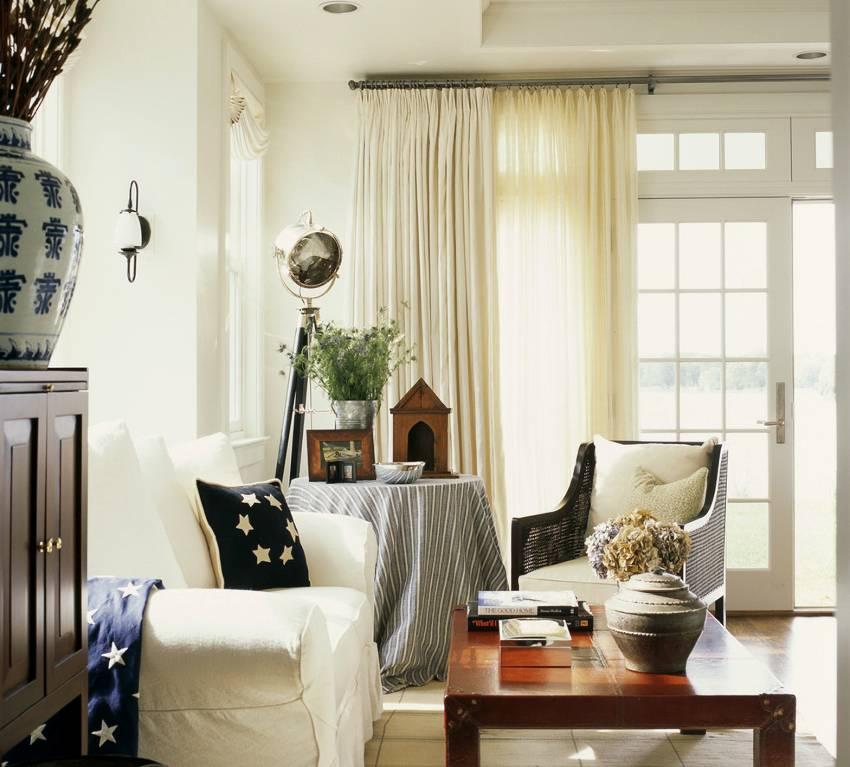 Тюль в гостиную: оформляем окна в современном стиле