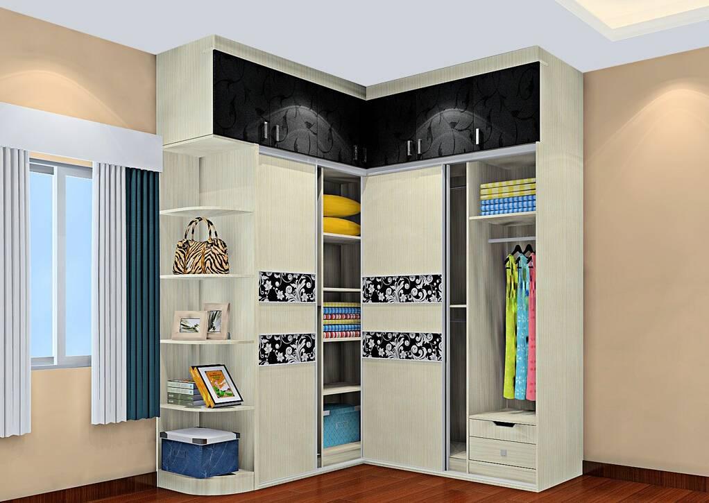 Угловой шкафы-купе - 77 фото идей безупречного дизайна