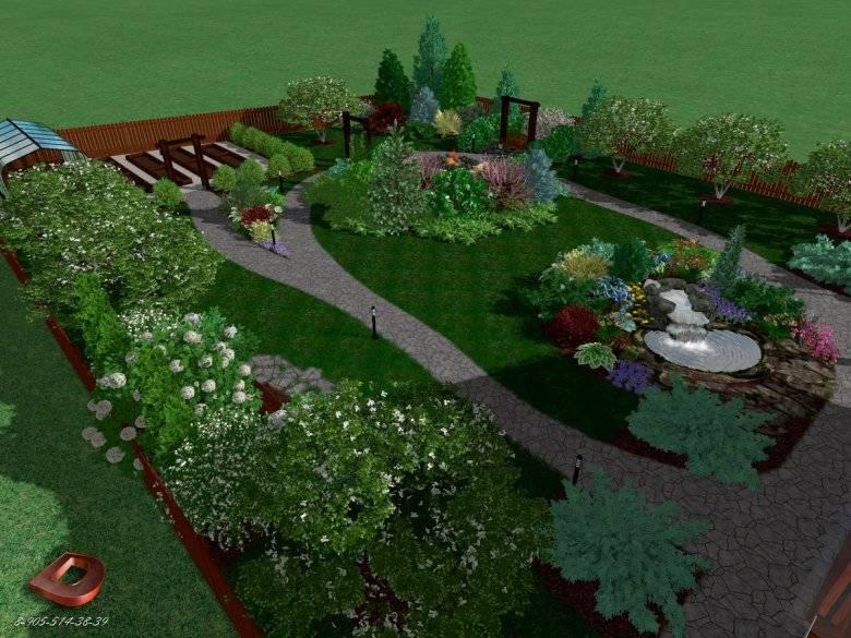 Планировка участка 4 сотки: выбираем самое необходимое, нюансы функционального использования земли