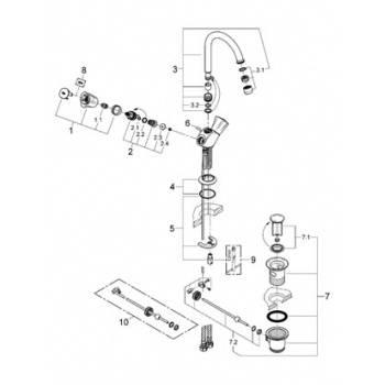 Как разобрать и отремонтировать однорычажный шаровой смеситель: пошаговая инструкция
