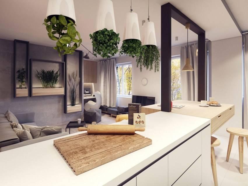 Экостиль в интерьере квартиры с фото: дизайн гостиной, спальни и кухни в современном стиле эко своими руками