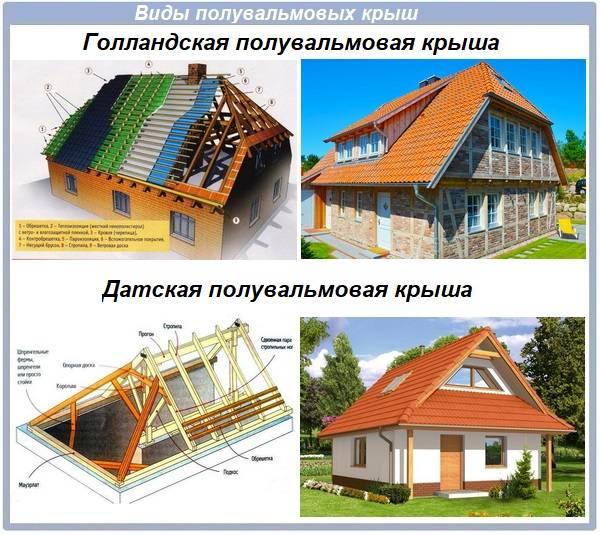 Варианты крыши частного дома: советы по выбору