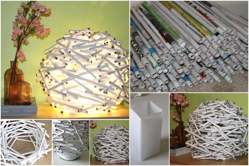 Поделки из подручных материалов - 125 фото идей стильных и красивых поделок для дома и дачи