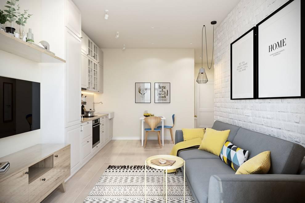 Квартира-студия 30 квадратных метров: планировка + фото, правила зонирования