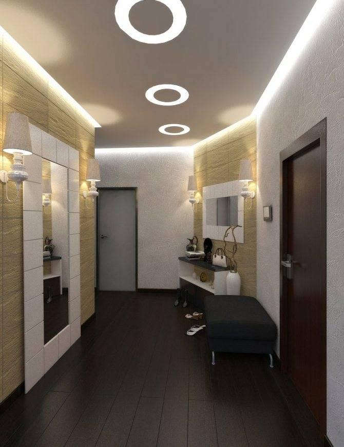 Освещение в прихожей — советы по выбору идеального светильника и особенности оформления прихожей при помощи света (125 фото)