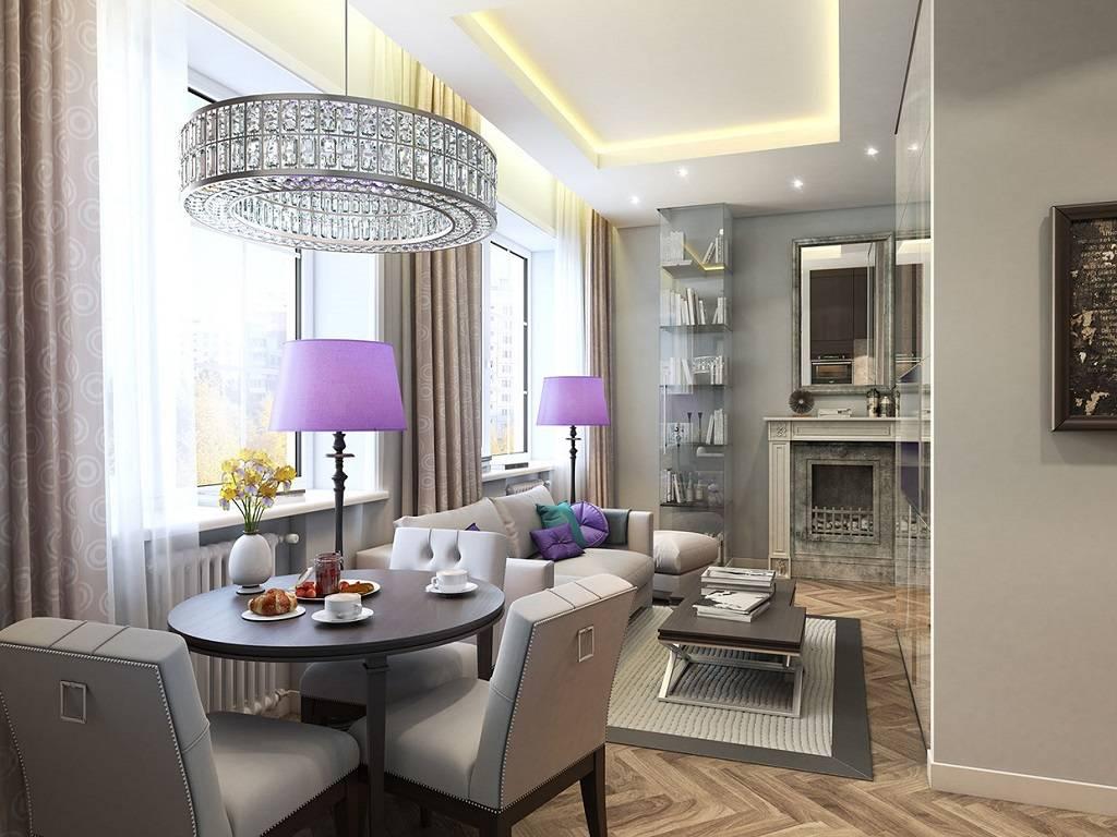 Дизайн двухкомнатной квартиры площадью 55 кв. м (43 фото): примеры в современном стиле, ремонт 2-комнатной квартиры, нюансы планировки и зонирования