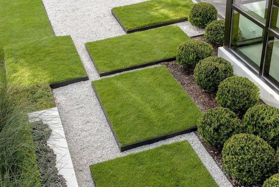 Искусственная трава для ландшафта: как укладывать и ухаживать