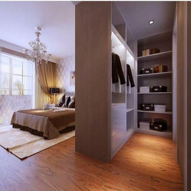 Гардеробная в спальне: угловая и линейная, шкаф, дизайн, небольшого размера, встроенная и проходная, фото, в современном стиле