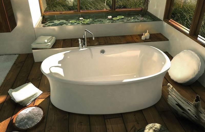Акриловые ванны - плюсы и минусы - все о ремонте в ванной комнате