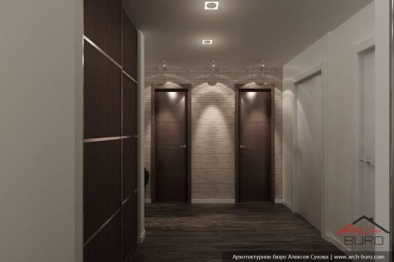 Дизайн прихожей в квартире панельного дома +50 фото интерьера
