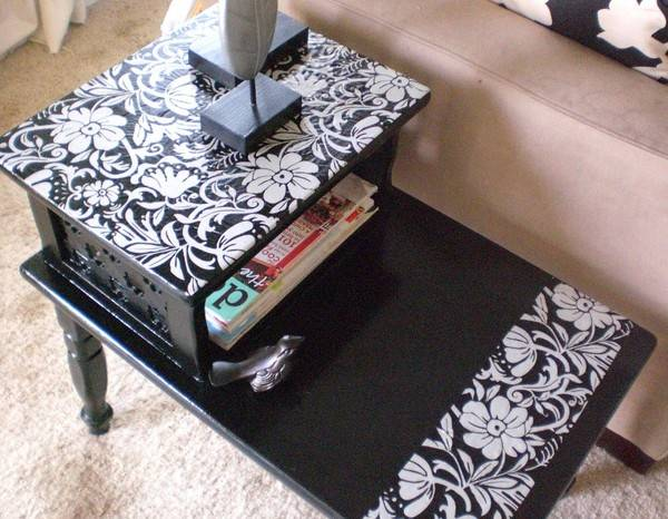 Журнальный столик своими руками, материалы, дизайн, порядок работы