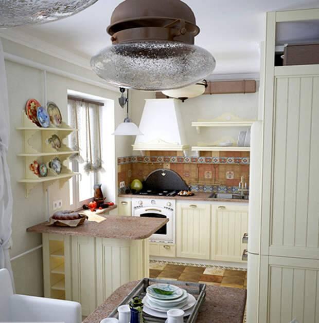 Кухни под старину (42 фото) – создаем колоритный интерьер