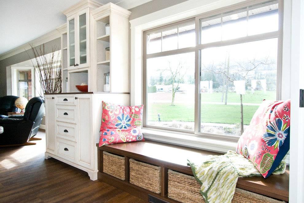Как использовать подоконник на кухне и других комнатах: обыгрываем в интерьере, идеи декора