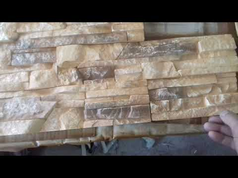 Покраска декоративного камня из гипса: тонкости процесса